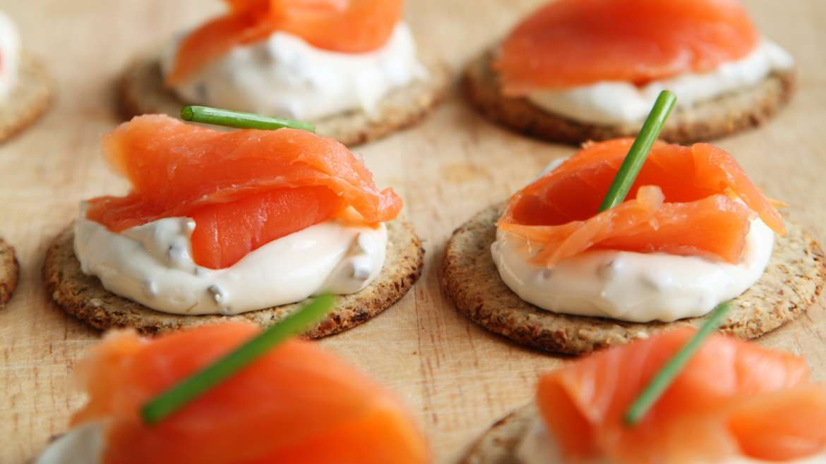 Floating canapes